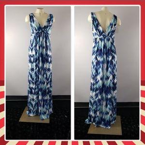 Tart Maternity V-neck Maxi Dress sleeveless Stretc